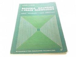BADANIA NAUKOWE I PRACE ROZWOJOWE - Seiler 1969