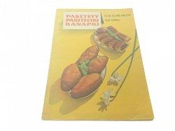 PASZTETY PASZTECIKI KANAPKI Kulzowa-Hawliczek 1972