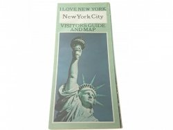 NEW YORK CITY. VISITORS GUIDE AND MAP