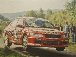 RAJD WRC 2005 ZDJĘCIE NUMER #305 MITSUBISHI LANCER