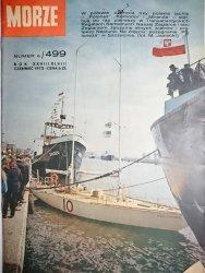 MORZE NUMER 6/499 ROK XXVIII/XLVIII CZERWIEC 1972