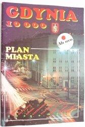 GDYNIA 10 000 PLAN MIASTA 1992