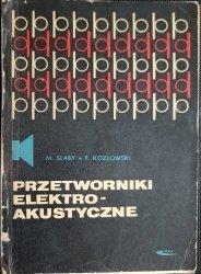 PRZETWORNIKI ELEKTROAKUSTYCZNE - M. Słaby 1969