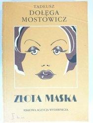 ZŁOTA MASKA - Tadeusz Dołęga-Mostowicz 1988