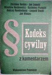 KODEKS CYWILNY Z KOMENTARZEM TOM II - Gordon 1989