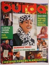 BURDA NR 11/97 DODATKI ZE SZTUCZNEGO MISIA