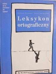 LEKSYKON ORTOGRAFICZNY - Edward Polański 2001