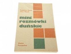 MINI ROZMÓWKI DUŃSKIE - Eugeniusz Rajnik 1985