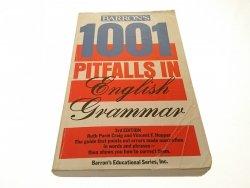 1001 PITFALLS IN ENGLISH GRAMMAR 1986