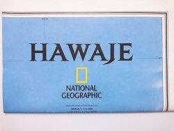 HAWAJE. MAPA NATIONAL GEOGRAPHIC 1: 773 000 2015