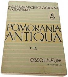 POMORANIA ANTIQUA T. IX (1979)