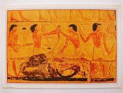 EGYPT. SAKKARA THE BUTCHERS. TOMB STAUGHTERING
