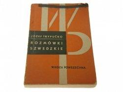 ROZMÓWKI SZWEDZKIE - Józef Trypućko (Wyd II 1966)
