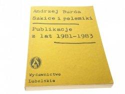 PUBLIKACJE Z LAT 1981-1983 - Andrzej Burda (1984)