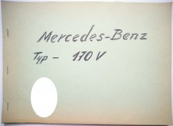 MERCEDES-BENZ TYP-170 V