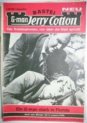 BASTEI NEU G-MAN JERRY COTTON. DER KRIMINALROMAN, VON DEM DIE WELT SPRICHT