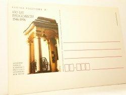 KARTKA POCZTOWA #008 650 LAT BYDGOSZCZY 1346-1996