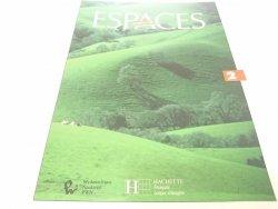 ESPACES 2 METHODE DE FRANCAIS 1990