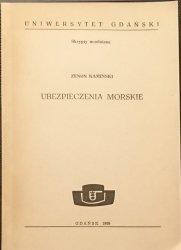 UBEZPIECZENIA MORSKIE - Zenon Kamiński 1989