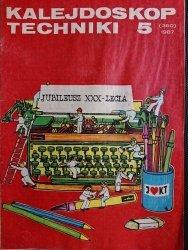 KALEJDOSKOP TECHNIKI NR 5 (360) 1987