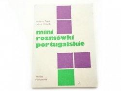 MINI ROZMÓWKI PORTUGALSKIE - Bożena Papis 1984