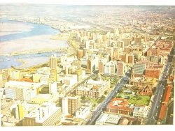 DURBAN. THE CITY'S MAIN THOROUGHFARES AND DISTANT