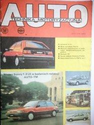 AUTO TECHNIKA MOTORYZACYJNA STYCZEŃ 1989