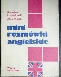 MINI ROZMÓWKI ANGIELSKIE - Bogusław Lawendowski