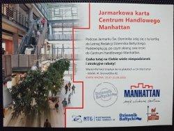 JARMARKOWA KARTA CENTRUM HANDLOWEGO MANHATTAN