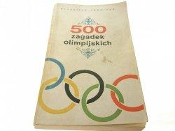 500 ZAGADEK OLIMPIJSKICH - Eugeniusz Skrzypek 1968