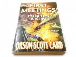 FIRST MEETINGS IN EDNER'S UNIVERSE 2003