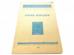 FIZYKA DŹWIĘKÓW - Marta Lubieniecka (1948)
