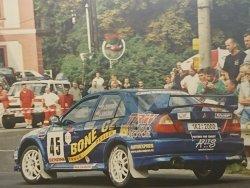 RAJD WRC 2005 ZDJĘCIE NUMER #288 MITSUBISHI LANCER