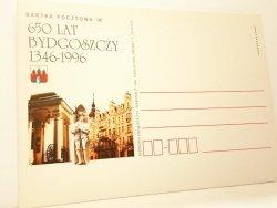 KARTKA POCZTOWA #006 650 LAT BYDGOSZCZY 1346-1996