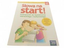 SŁOWA NA START! 4 PODRĘCZNIK - Derlukiewicz (2007)