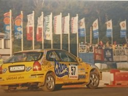 RAJD WRC 2005 ZDJĘCIE NUMER #313 HONDA CIVIC