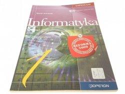 INFORMATYKA. PODRĘCZNIK - Marek Kołodziej 2009