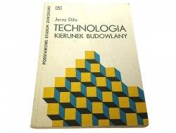 TECHNOLOGIA KIERUNEK BUDOWLANY - Jerzy Dilis 1976