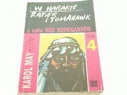 W HARARZE. RAPIER I TOMAHAWK - Karol May 1989