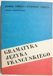 GRAMATYKA JĘZYKA FRANCUSKIEGO - Janina Terech 1985