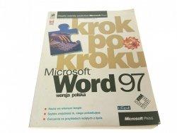 MICROSOFT WORD 97 KROK PO KROKU. WERSJA POLSKA