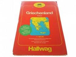 GREECE - GRIECHENLAND. ROAD MAP 1 : 1 000 000