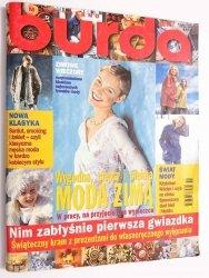 BURDA NR 11/98 WYGODNA, CIEPŁA I PIĘKNA MODA ZIMĄ