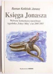 KSIĘGA JONASZA - Roman Kotliński