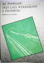 TRZY LATA WYKREŚLONE Z ŻYCIORYSU Dzieduszycki 1989