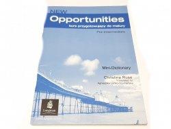 NEW OPPORTUNITIES. PRE-INTERMEDIATE - Ruse 2005