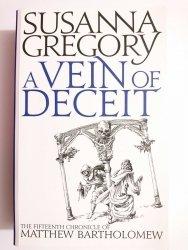 A VEIN OF DECEIT - Susanna Gregory 2013
