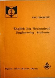 ENGLISH FOR MECHANICAL ENGINEERING STUDENTS 1989