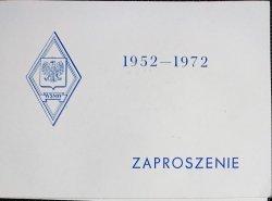 WSMW 1952-1972 ZAPROSZENIE