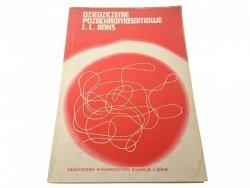 DZIEDZICZENIE POZACHROMOSOMOWE - John L. Jinks '70